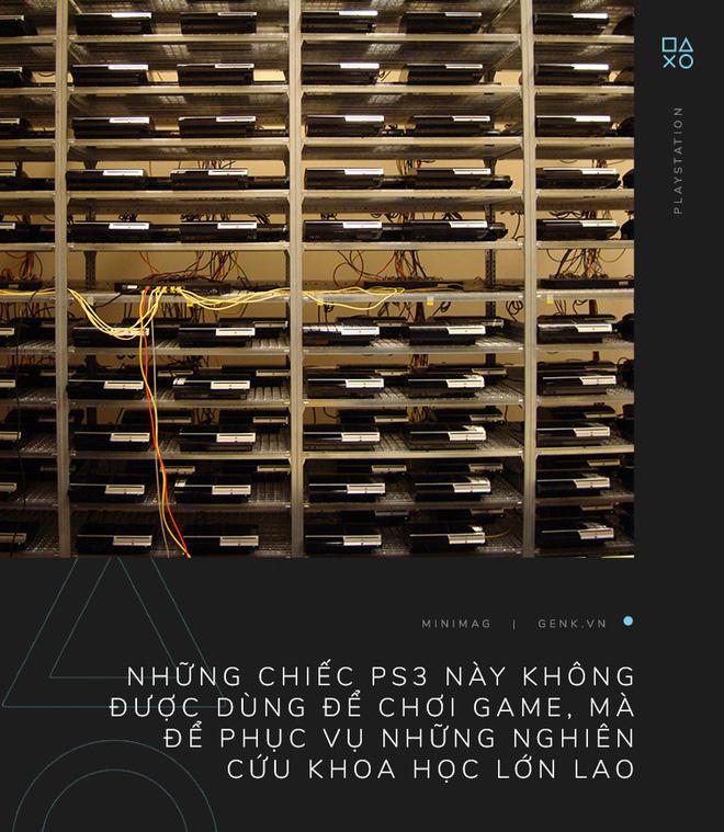 Câu chuyện về chiếc siêu máy tính được tạo ra từ những chiếc máy PlayStation 3 - Ảnh 1.