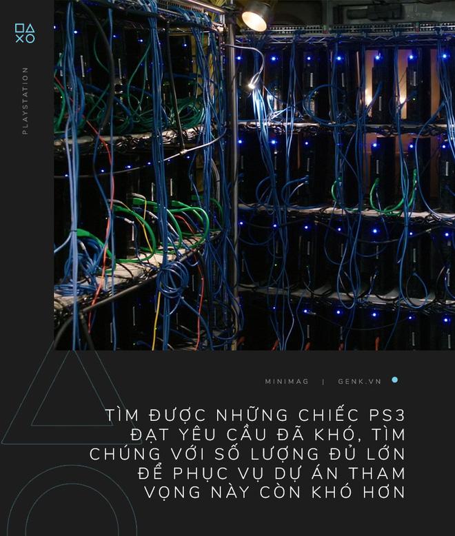 Câu chuyện về chiếc siêu máy tính được tạo ra từ những chiếc máy PlayStation 3 - Ảnh 11.