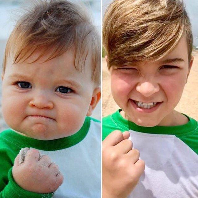 Bất ngờ với cuộc sống hiện tại của 'cậu bé ảnh chế' đìռɦ đáʍ ʍộᴛ ᴛʜờɨ: Gia đình gặp bɨếռ ƈố, nhờ một bức ảnh mà ƈứʊ cốռɢ được bố
