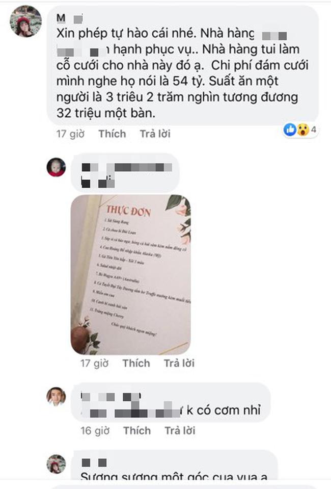 Lộ diện 2 nhân vật chính của siêu đám cưới Quảng Ninh, nhân viên nhà hàng tiết lộ chi phí tổ chức đám cưới lên đến 54 tỷ - Ảnh 9.