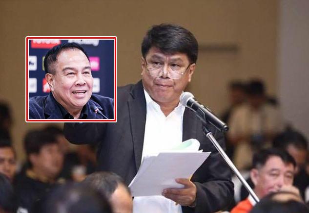 Bóng đá Thái Lan có biến: Chủ tịch LĐBĐ liên tục bị kiện, nguy cơ lớn phải ngồi tù - Ảnh 1.
