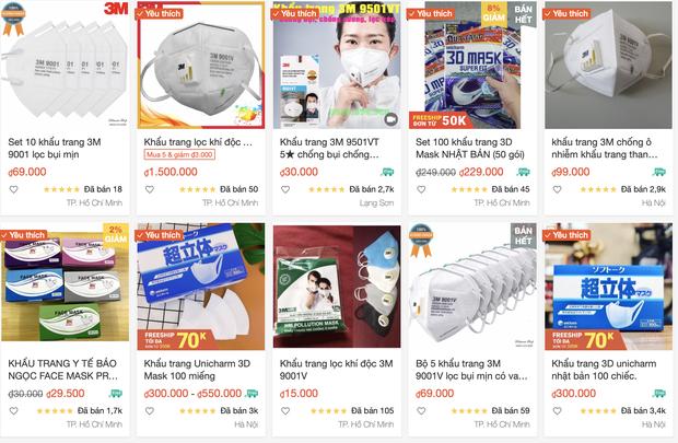 Lợi dụng đại dịch corona, khẩu trang online tăng giá đột biến với lý do: Nếu không mua thì sau này không có mà mua đâu - Ảnh 2.