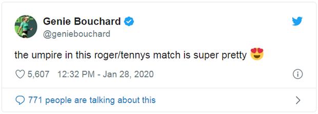 Nữ trọng tài quyến rũ bậc nhất Australian Open khiến Federer phải nộp phạt 70 triệu đồng là ai? - Ảnh 2.