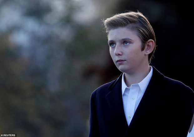 Barron Trump: Từ thiên thần sinh ra đã ngậm thìa bạc đến tiểu soái ca đốn gục trái tim hàng triệu người hâm mộ - Ảnh 12.