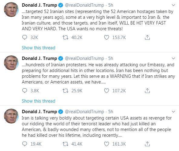 Mỹ tấn công các mục tiêu Iran có thể tạo thành tội ác chiến tranh - Ảnh 1.