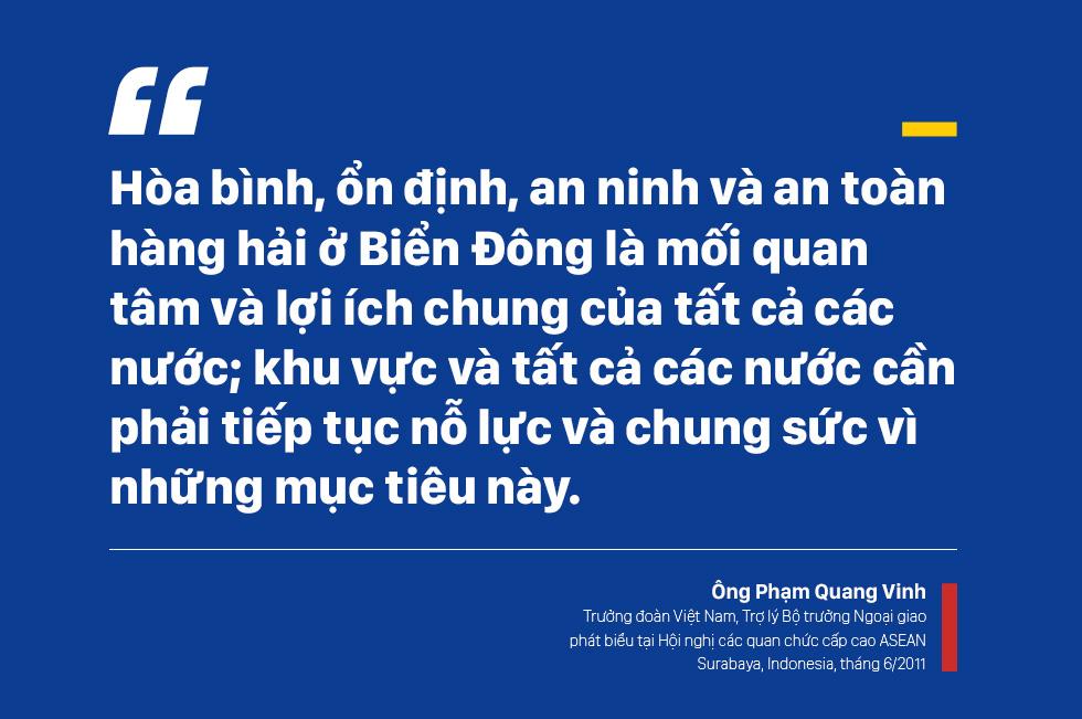 ĐS Phạm Quang Vinh kể về thăng trầm ASEAN: Vụ tàu TQ 2 lần cắt cáp của Việt Nam, bức ảnh thất vọng ở Campuchia và lời kêu gọi thức tỉnh - Ảnh 7.