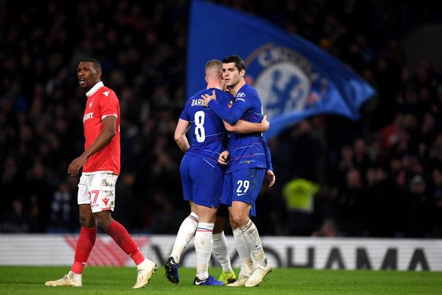 Kết quả vòng 3 FA Cup: Liverpool 1-0 Everton, Chelsea 2-0 Nottingham Forrest, Middlesborough 1-1 Tottenham - Ảnh 2.