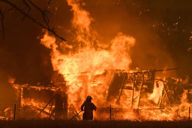 Đại thảm họa cháy rừng Úc nhìn từ không gian: Cả nước như quả cầu lửa, những mảng xanh trù phú bị thay bằng màu khói trắng tang thương - Ảnh 17.