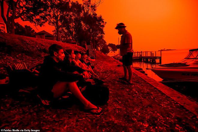 Đại thảm họa cháy rừng Úc nhìn từ không gian: Cả nước như quả cầu lửa, những mảng xanh trù phú bị thay bằng màu khói trắng tang thương - Ảnh 30.