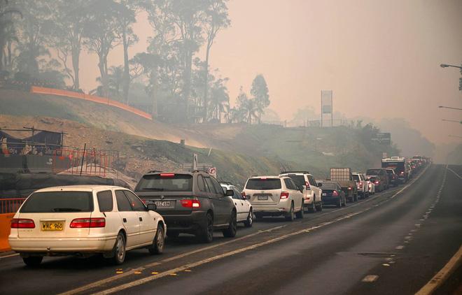 Đại thảm họa cháy rừng Úc nhìn từ không gian: Cả nước như quả cầu lửa, những mảng xanh trù phú bị thay bằng màu khói trắng tang thương - Ảnh 36.