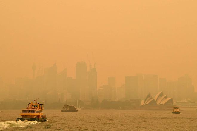 Đại thảm họa cháy rừng Úc nhìn từ không gian: Cả nước như quả cầu lửa, những mảng xanh trù phú bị thay bằng màu khói trắng tang thương - Ảnh 37.
