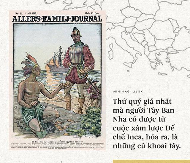 """Lịch sử thú vị của khoai tây: """"Quả táo quỷ"""" đem thịnh vượng đến cho những đế quốc - Ảnh 6."""
