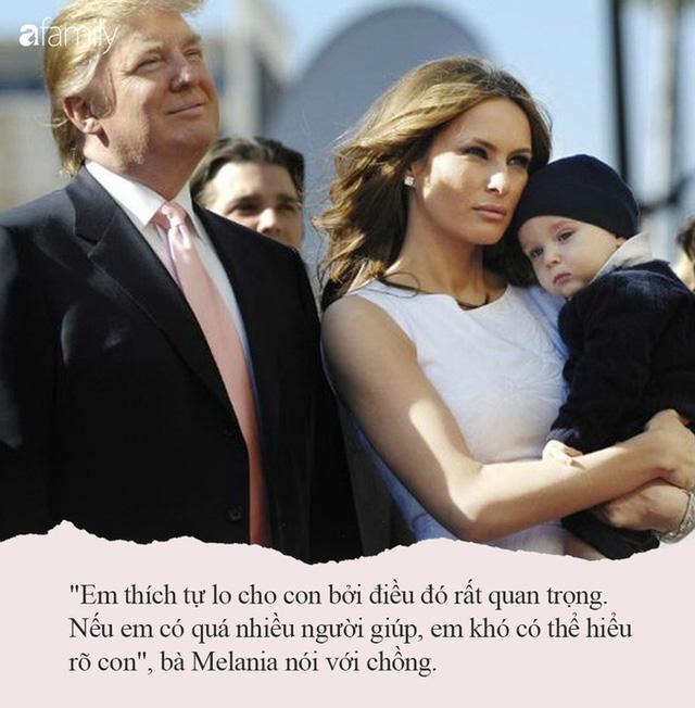 Từng nhiều lần bị công chúng chê cười nhưng khi Melania Trump nói ra quan điểm dạy con của mình, ai cũng đồng tình khen ngợi - Ảnh 6.