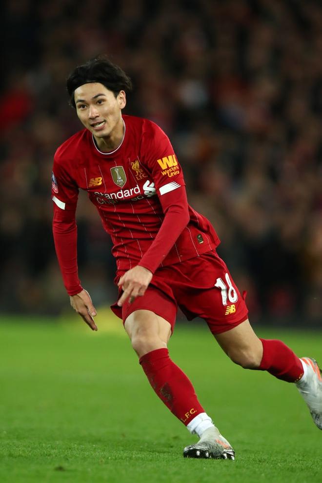 Hot boy Nhật Bản Minamino đá trận ra mắt ở đội bóng mạnh nhất thế giới, siêu phẩm cứa lòng tuyệt đẹp giúp Liverpool đánh bại kẻ thù cùng thành phố - Ảnh 8.