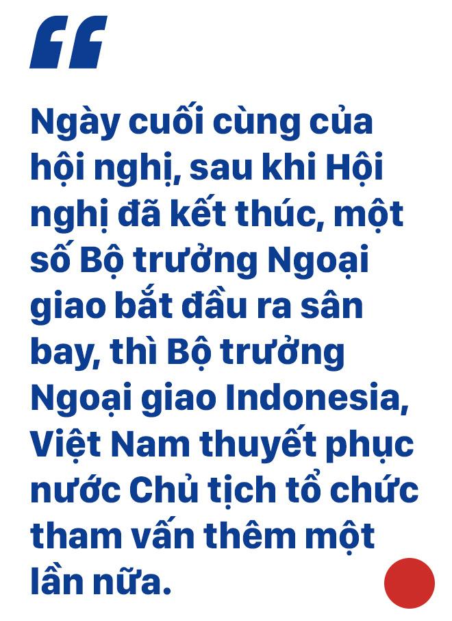 ĐS Phạm Quang Vinh kể về thăng trầm ASEAN: Vụ tàu TQ 2 lần cắt cáp của Việt Nam, bức ảnh thất vọng ở Campuchia và lời kêu gọi thức tỉnh - Ảnh 10.