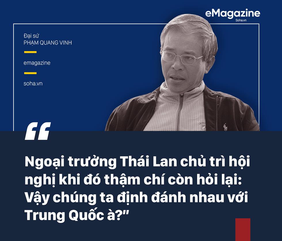 ĐS Phạm Quang Vinh kể về thăng trầm ASEAN: Vụ tàu TQ 2 lần cắt cáp của Việt Nam, bức ảnh thất vọng ở Campuchia và lời kêu gọi thức tỉnh - Ảnh 17.