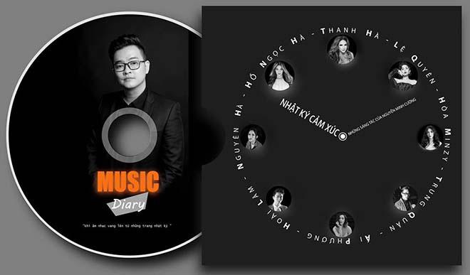 Hồ Ngọc Hà, Lệ Quyên góp mặt trong album đầu tay của Nguyễn Minh Cường - Ảnh 1.