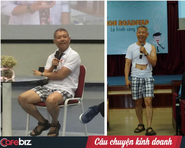 Giáo sư quần đùi Trương Nguyện Thành: Thi rớt mà nghĩ do mình dốt, startup thất bại mà nghĩ do mình là kẻ thất bại thì cuộc đời bạn coi như xong rồi! - Ảnh 3.