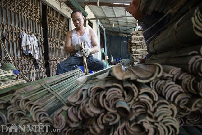 Ảnh: Làng làm tăm hương nổi tiếng Hà Nội nhộn nhịp ngày giáp Tết - Ảnh 3.
