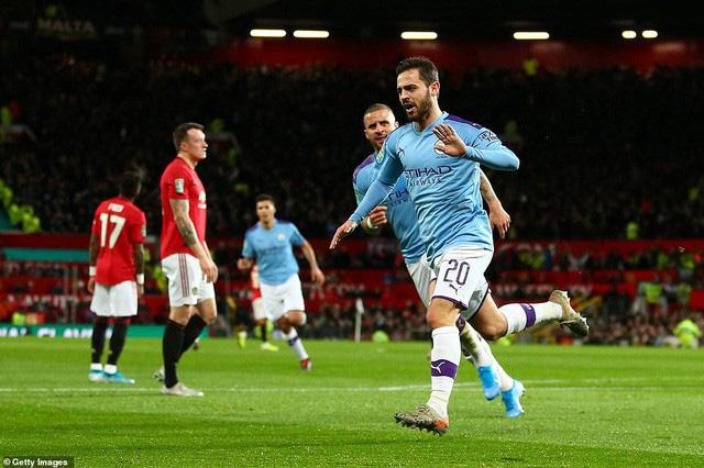 Man Utd 1-3 Man City: 45 phút ác mộng - Ảnh 1.
