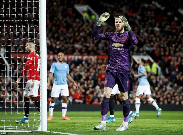 Man Utd 1-3 Man City: 45 phút ác mộng - Ảnh 2.