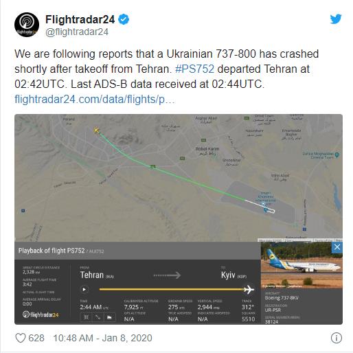Hiện trường máy bay Ukraine chở 180 người gặp nạn tại sân bay Iran - Ảnh 2.