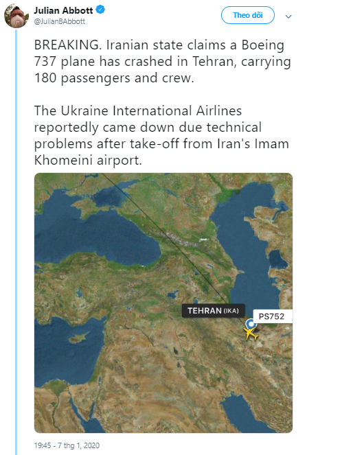 Hiện trường máy bay Ukraine chở 180 người gặp nạn tại sân bay Iran - Ảnh 3.