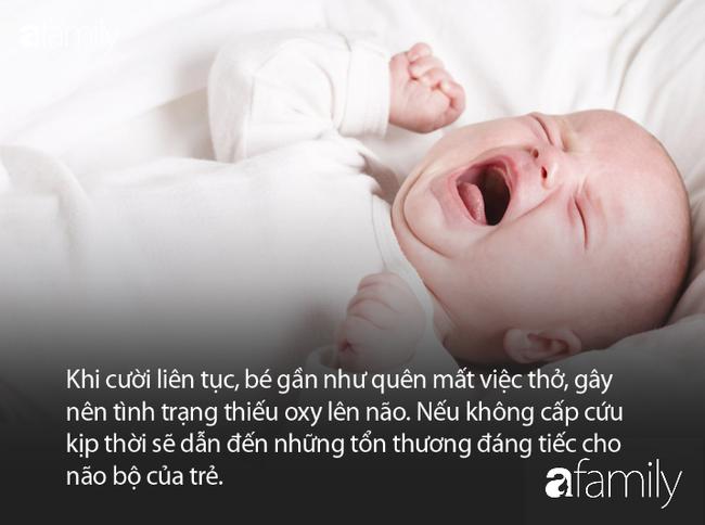 Bé gái 10 tháng phải đi cấp cứu vì bà trêu cho cười như nắc nẻ - Ảnh 2.