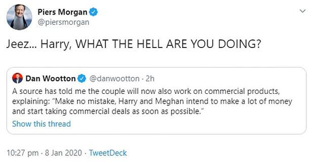MC nổi tiếng nhất nước Anh nặng nề chỉ trích Meghan hết ghẻ lạnh gia đình, bạn bè mình rồi lại chia rẽ Harry với William và hoàng gia - Ảnh 5.