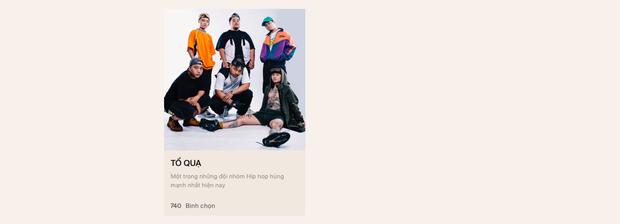 Đếm ngược 4 ngày đến WeChoice Awards 2019: Nguyễn Trần Trung Quân bỏ xa Đen và Hoàng Thuỳ Linh, Đạt G liệu sẽ vượt Cá Hồi Hoang? - Ảnh 8.