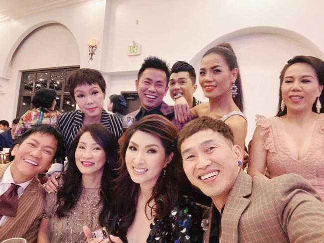 Việt Hương, Hồng Đào và dàn sao hải ngoại nô nức tham dự đám cưới của Xuân Lan tại Mỹ - Ảnh 3.