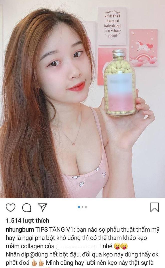 """Bạn gái Văn Toàn nói gì khi quảng cáo 2 loại thuốc nâng ngực cùng một lúc, bị fan nhắc """"cẩn thận không phốt đấy"""" - Ảnh 2."""