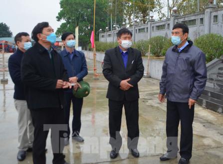 Chủ tịch tỉnh Thái Bình phê bình cán bộ chủ quan trong phòng dịch corona - Ảnh 2.