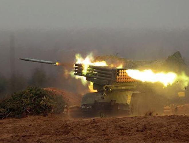 Tiếng rít của rocket BM-21 khiến phiến quân Syria bạt vía kinh hoàng bỏ chạy - Ảnh 19.
