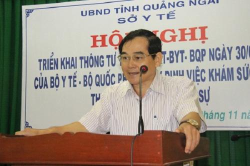 """Vụ Giám đốc Sở Y tế """"né"""" phát ngôn về dịch virus Corona, Chủ tịch Quảng Ngãi: """"Tôi vừa gọi để nhắc nhở nhưng chưa được"""" - Ảnh 2."""
