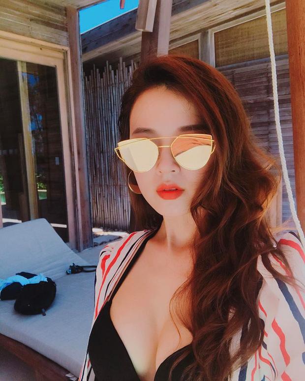 Những hình ảnh táo bạo, đầy nóng bỏng của hot girl Midu - Ảnh 4.