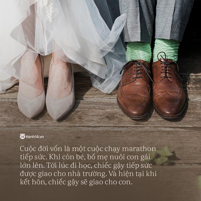 Thư bố gửi chàng rể tương lai: Người con cưới không phải vợ con mà chính là sinh mệnh của bố - Ảnh 2.