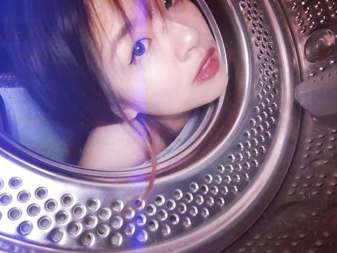 Đưa mặt vào máy giặt - trend chụp hình mới của dân mạng: Tưởng ngớ ngẩn mà lại xịn sò ra trò - Ảnh 11.