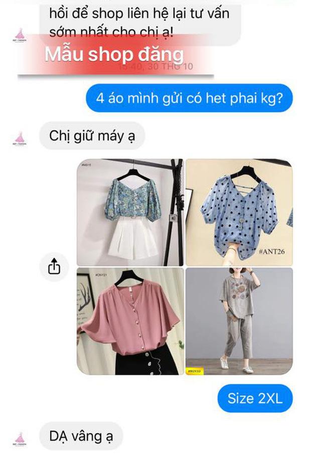 Mua 4 lời 5, cô gái vẫn lên mạng bóc phốt shop online vì 'treo đầu dê bán thịt chó' - ảnh 3