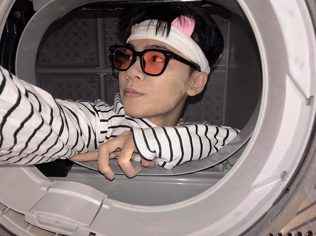 Đưa mặt vào máy giặt - trend chụp hình mới của dân mạng: Tưởng ngớ ngẩn mà lại xịn sò ra trò - Ảnh 3.