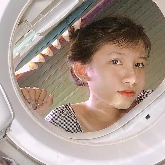 Đưa mặt vào máy giặt - trend chụp hình mới của dân mạng: Tưởng ngớ ngẩn mà lại xịn sò ra trò - Ảnh 4.