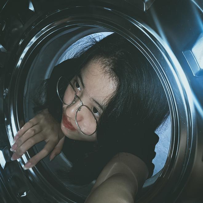 Đưa mặt vào máy giặt - trend chụp hình mới của dân mạng: Tưởng ngớ ngẩn mà lại xịn sò ra trò - Ảnh 6.