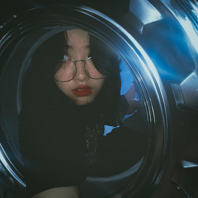 Đưa mặt vào máy giặt - trend chụp hình mới của dân mạng: Tưởng ngớ ngẩn mà lại xịn sò ra trò - Ảnh 7.