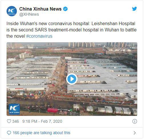 Báo chí phương Tây nghi ngờ hiệu suất thực sự của 2 bệnh viện dã chiến chống corona ở Trung Quốc - Ảnh 1.