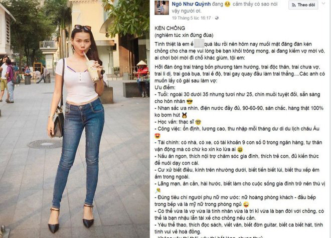 Nữ MC thích khoe ảnh sexy, đã gây tranh cãi khi đăng tin tuyển chồng giờ ra sao? - Ảnh 1.
