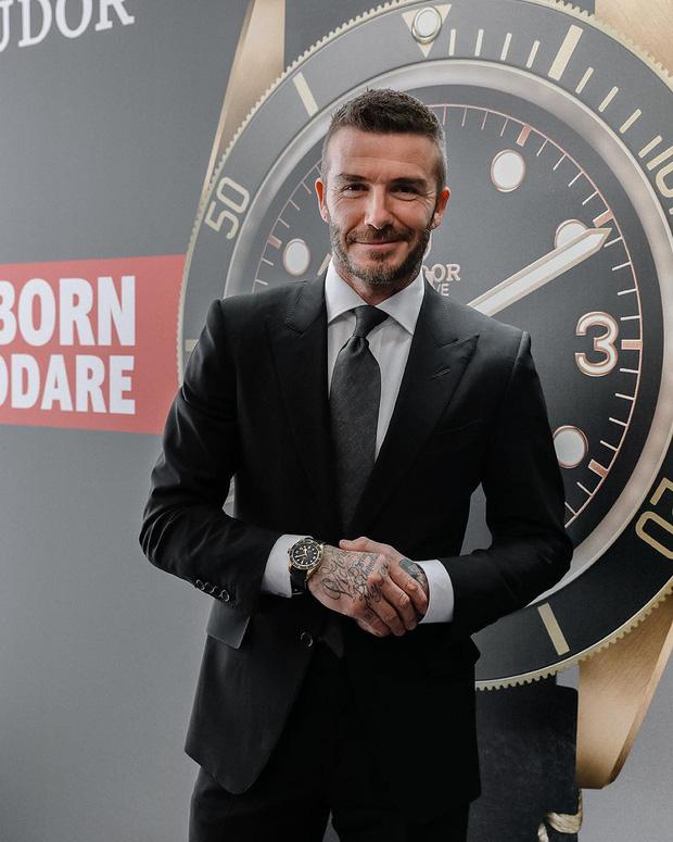 Chụp ảnh quảng cáo sương sương, nhưng ông chú David Beckham vẫn manly chết ngất, khiến đám đàn em còn phải chạy dài - Ảnh 7.