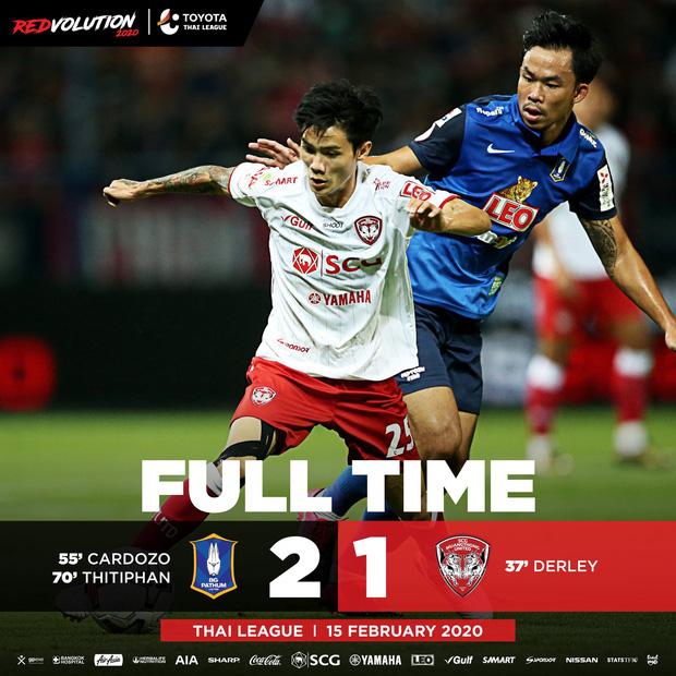 VAR 4 lần can thiệp, CLB của Văn Lâm cay đắng chịu cảnh từ thắng thành thua trước tân binh Thai League 1 - Ảnh 1.