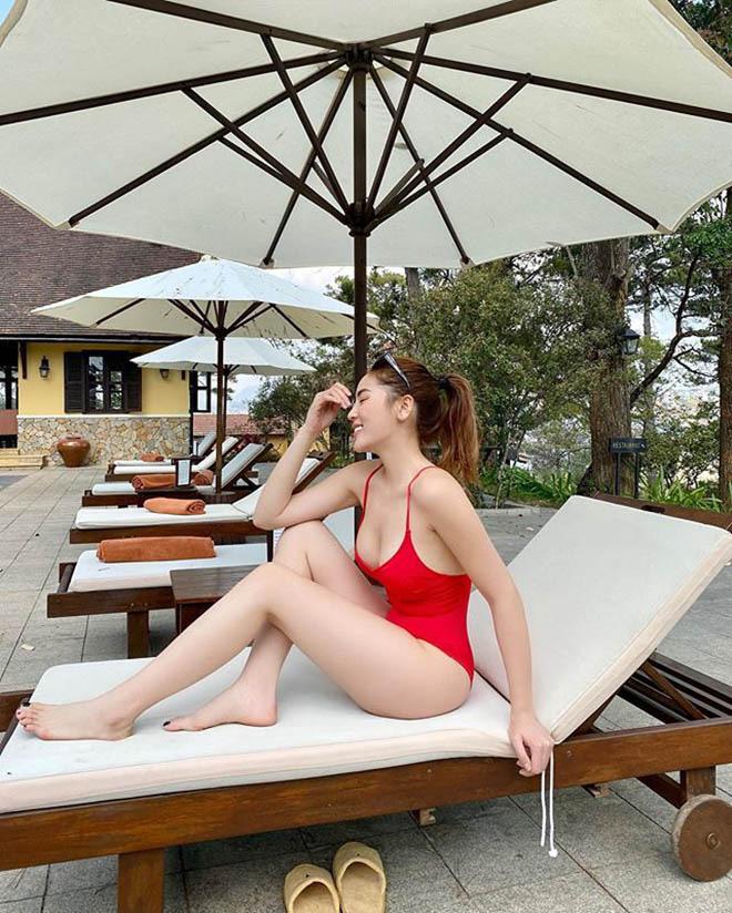 Trọn bộ ảnh bikini nóng bỏng, hút mắt của Kỳ Duyên khi đi du lịch cùng người yêu tin đồn - Ảnh 7.