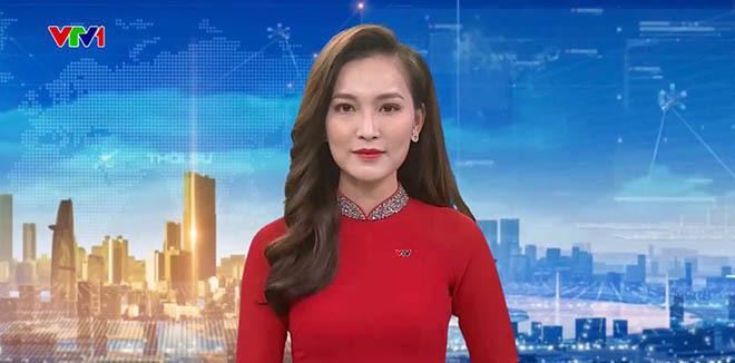 Điều ít biết về nữ BTV xinh đẹp, đang dẫn dắt Thời sự 19h của VTV - Ảnh 1.