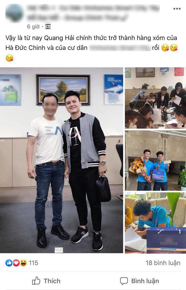 Chưa dứt lùm xùm tình ái, Quang Hải lại để lộ hình ảnh đi mua nhà bạc tỷ ở tuổi 23 khiến dân mạng xôn xao - ảnh 3